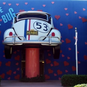 Tle Love Bug icon at ASM - rear.