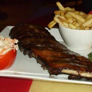 Ribs at Cafe Mickey