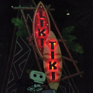 Liki Tiki Sign