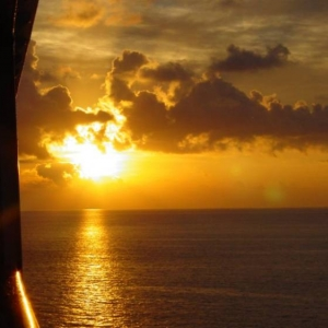 Sunset on DCL