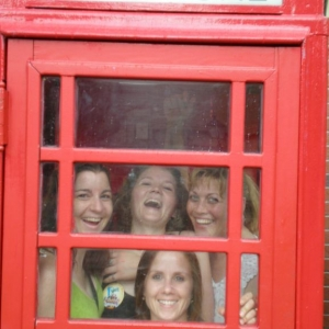 Stuck in the phone booth