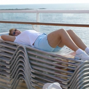 Its easy to relax on board DCL