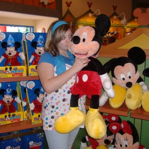 DD and Mickey!