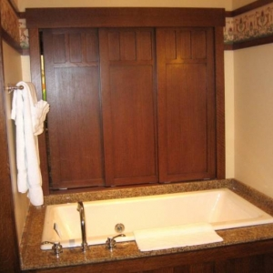 DVC Model 1 bed. bathroom