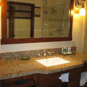 DVC Model 1 bed. vanity area