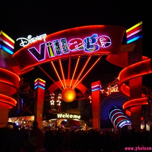 Disney Village entrance
