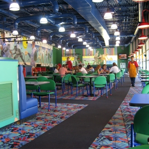 All Star Sports cafeteria