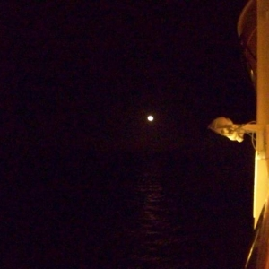 Full moon from deck 4
