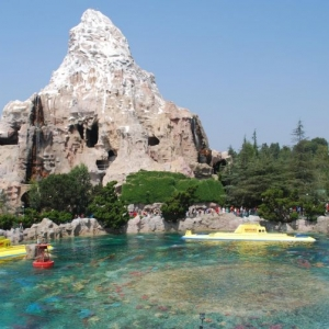 Matterhorn Mountain and Finding Nemo Submarine Voyage