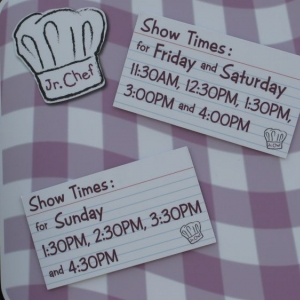 Show times for Junior Chef