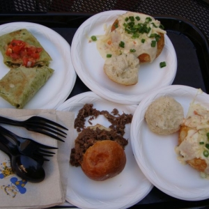 Tapas from the Festival Showplace