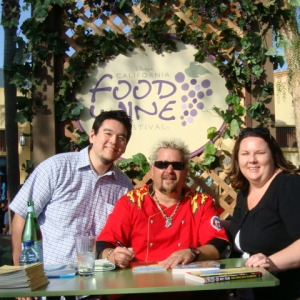 Guy Fieri Autograph Signing