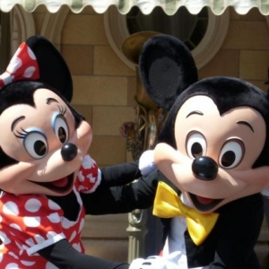mickey and minnie!