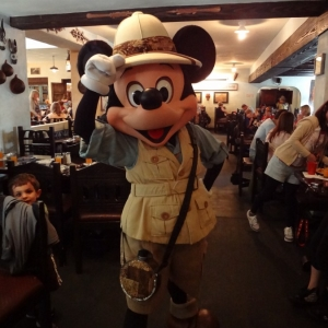 Safari Mickey