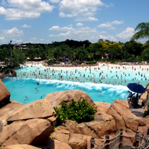 Typhoon Lagoon Surf Pool - Wave Action