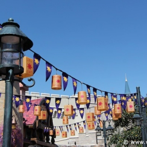 Tangled rest area - lanterns