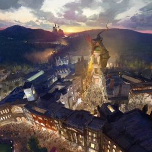 Artist's Rendering - Wizarding World expansion