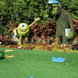 Gardens of the World Tour - Monsters University