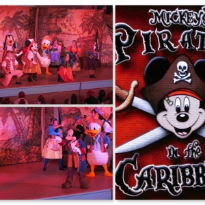 Pirate night on the Disney Fantasy