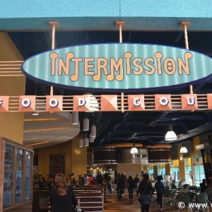 pictures of the new Intermission Food Court