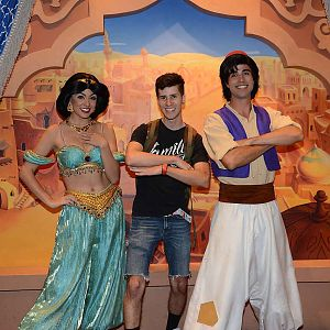 aladdin and jasmine disney world