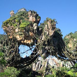 Pandora - World of Avatar - Floating mountains 2