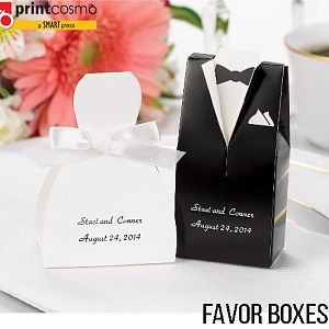 Custom Printed Colorful Favor Boxes Online Printing Press
