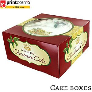Custom Cake Packaging Boxes wholesale Printing by Printcosmo.com
