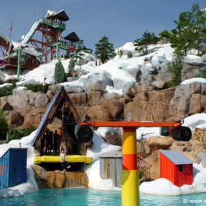 Ski Patrol T-Bar, Blizzard Beach