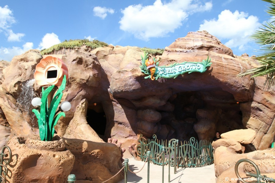 Ariel's Grotto walt disney world
