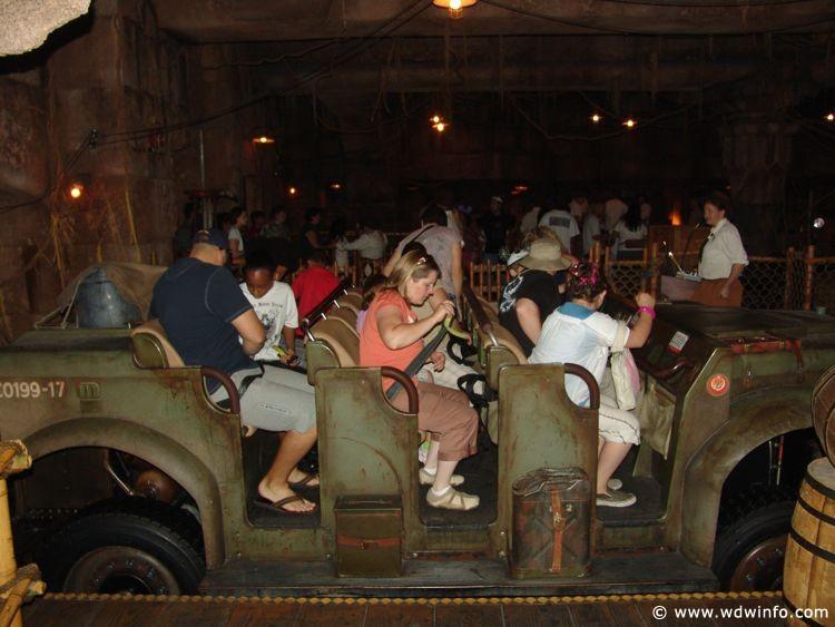 Indiana Jones Adventure, Temple of the Forbidden Eye