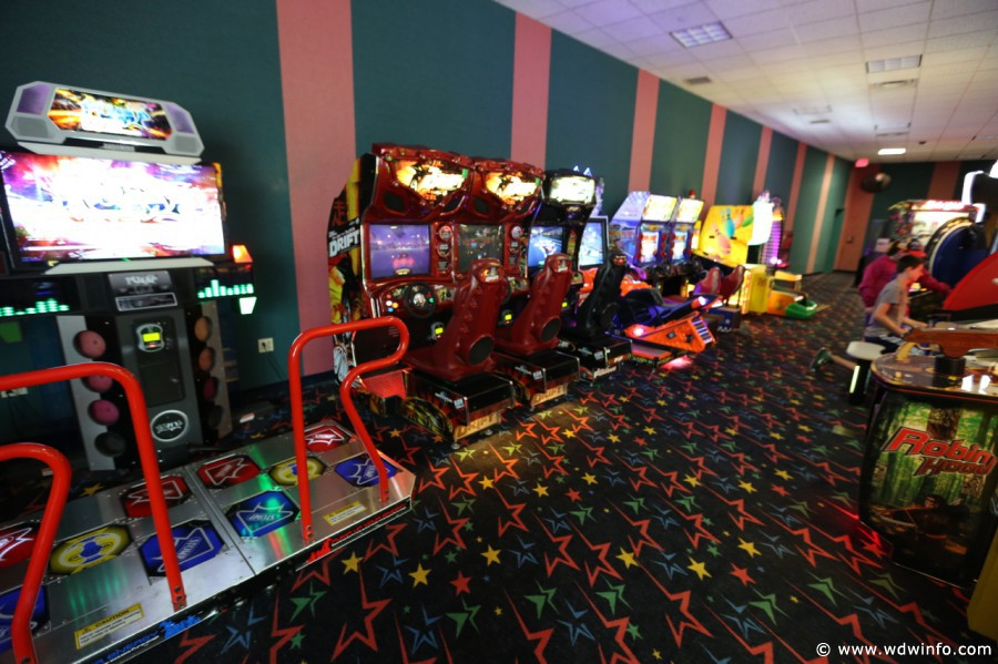 Disney's All Star Music Resort arcade