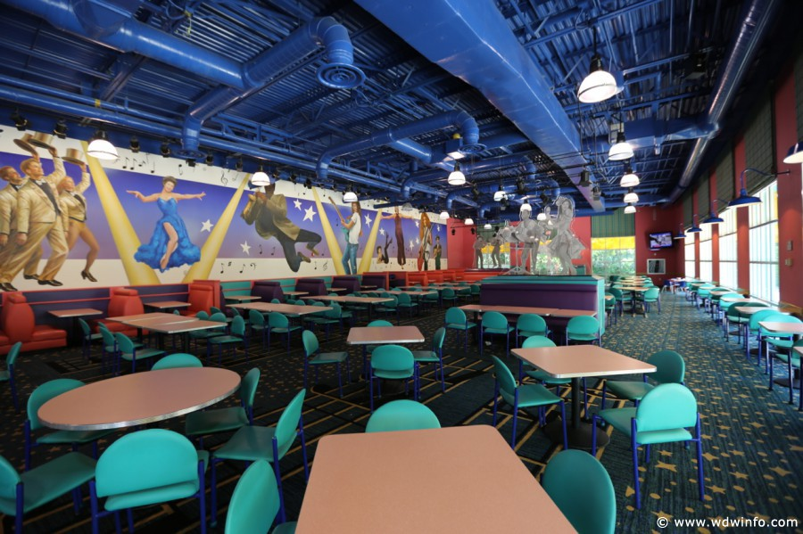 Disney's All Star Music Resort food court