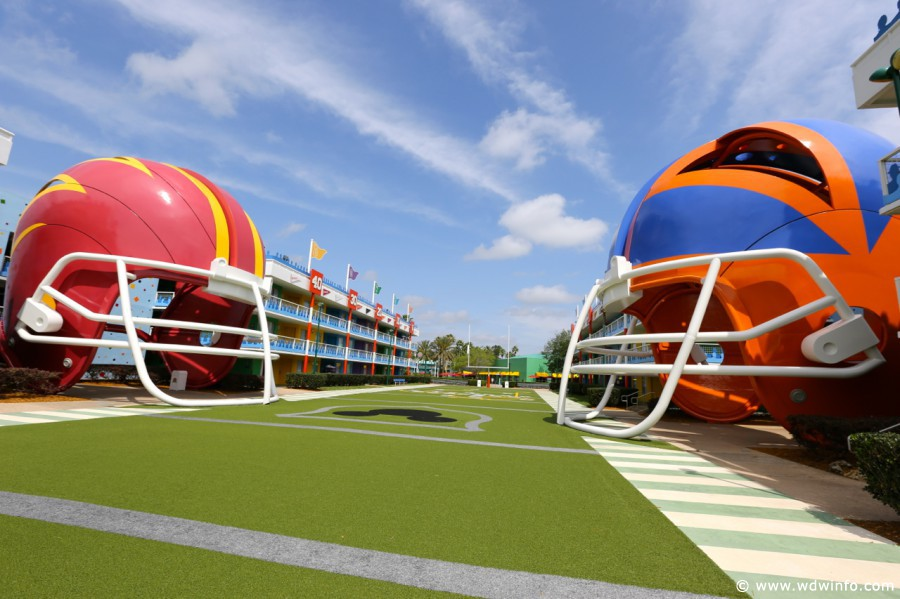 Disney's All Star Sports Resort football
