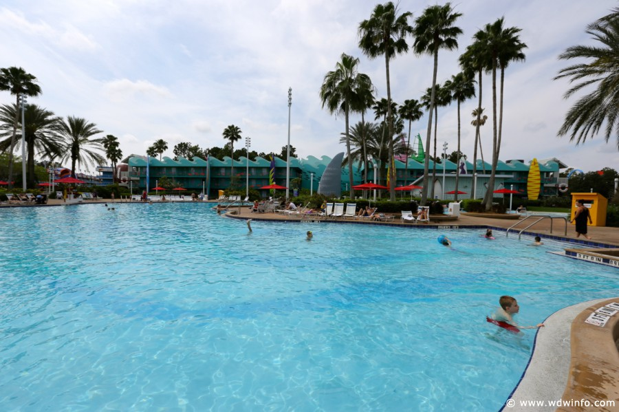Disney's All Star Sports Resort pool