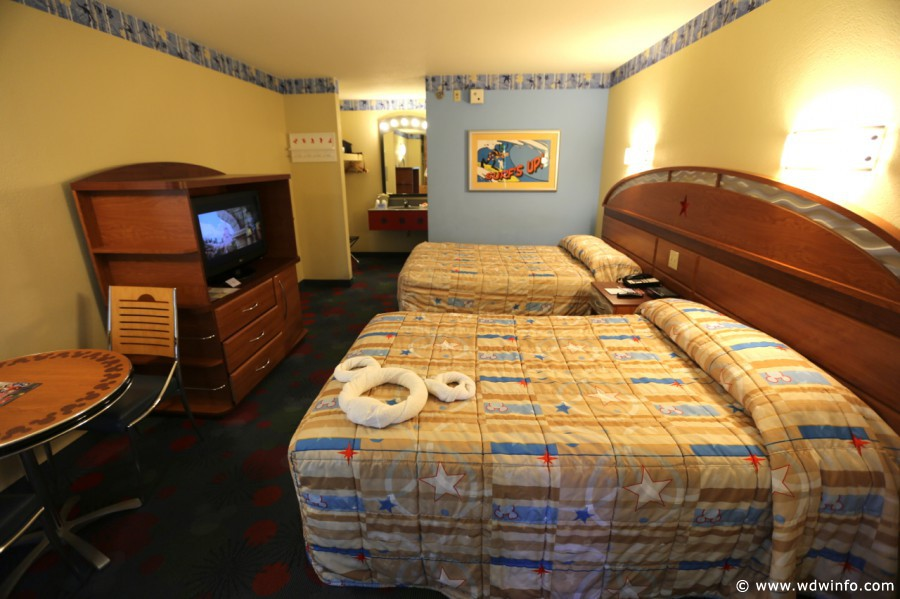 Disney's All Star Sports Resort room