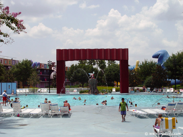 Disney's All Star Movies Resort pool