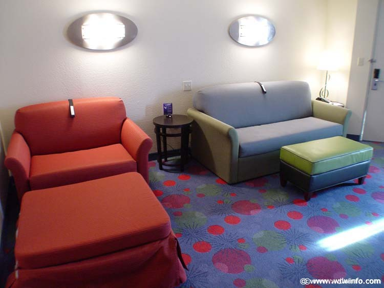 Disney's All Star Music Resort family suite