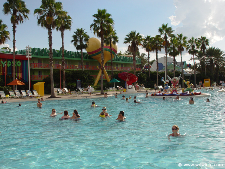 Disney's All Star Music Resort pool