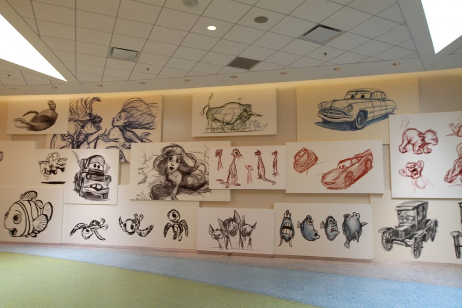 Art of Animation Resort lobby