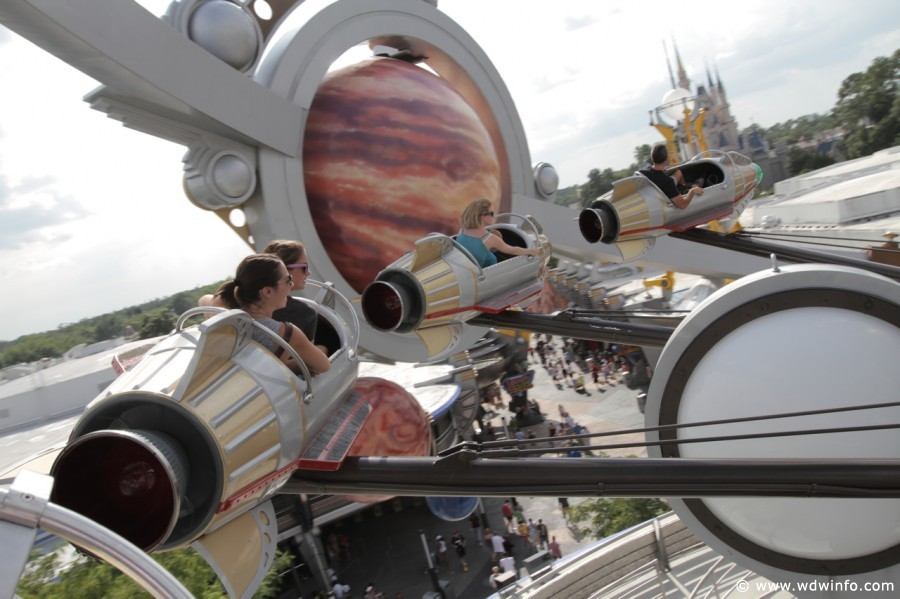 Astro Orbiter Magic Kingdom Tomorrowland