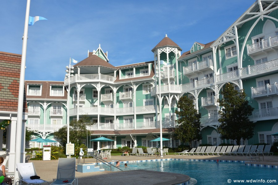 The Exterior Of Beach Club Villas Is Impressive Upon Arrival It Sits On Six Acres Land Just Adjacent To Resort