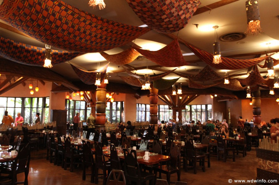 Best Restaurants Animal Kingdom Lodge