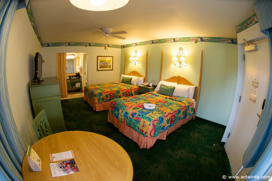 Walt Disney World Resort Room Rates Seasons Caribbean Beach Dining Options