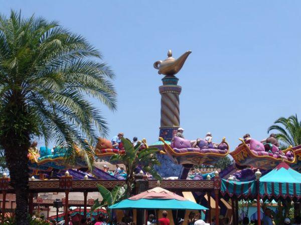 The Magic Carpets Of Aladdin Magic Kingdom Walt Disney World