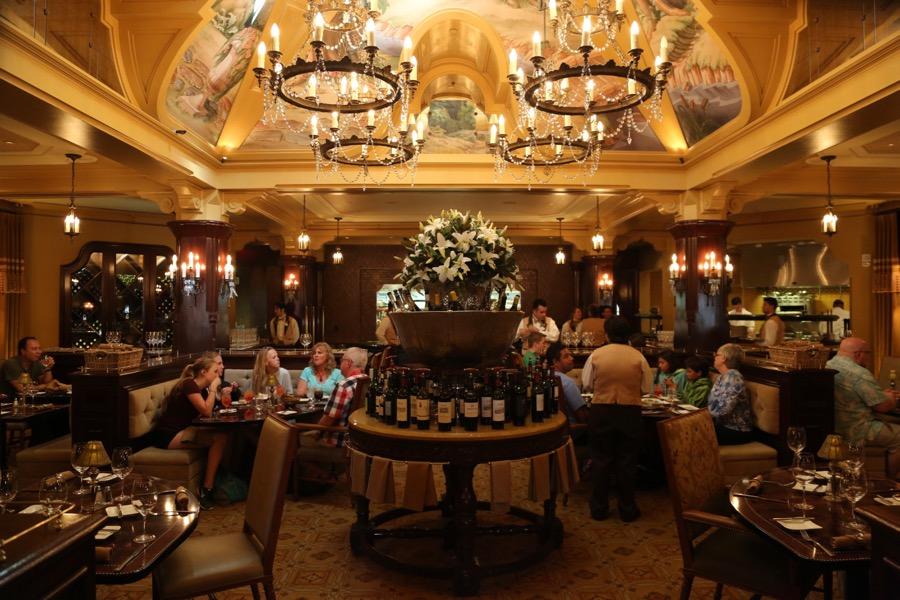 Carthay Circle Restaurant Menu California Adventure