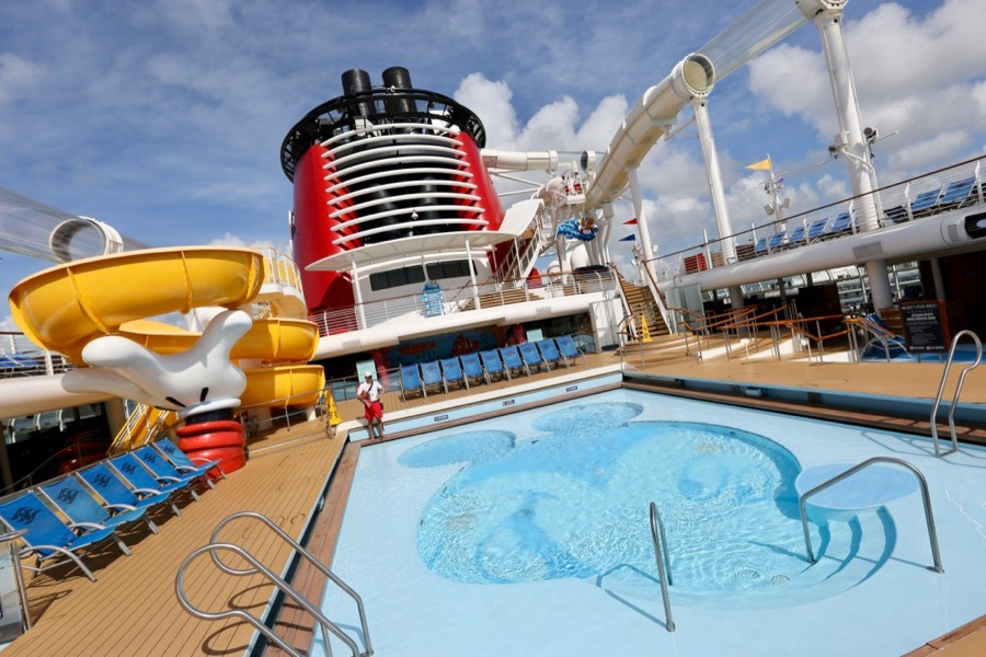 Disney Cruise Line Pools And Fitness Centers Recreational Activities On A Disney Cruise