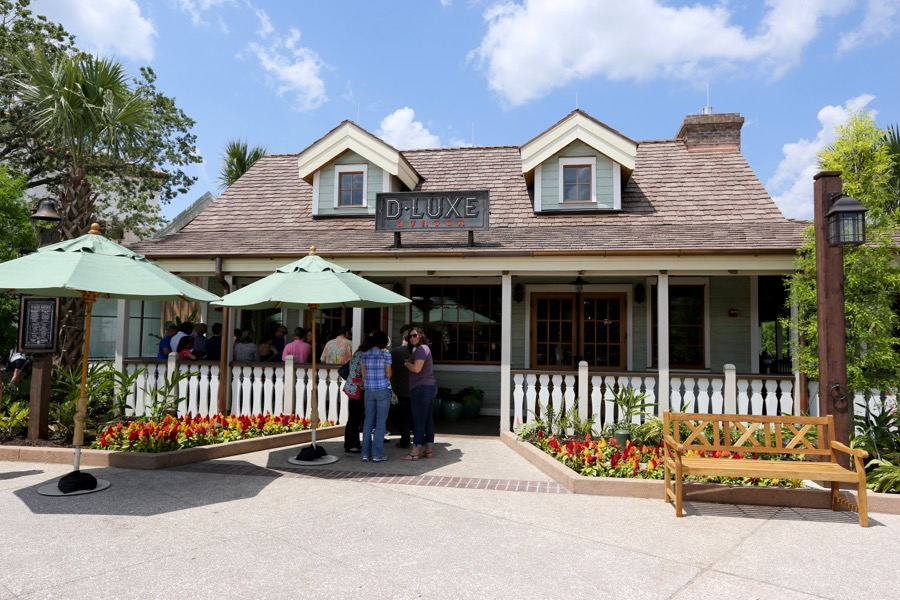 D Luxe Burger Menu Disney Springs