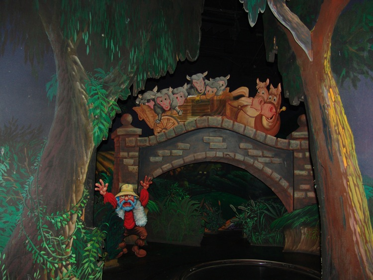Mr. Toad's Wild Ride Fantasyland