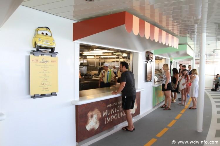 Flo's V-8 Cafe on the Disney Dream